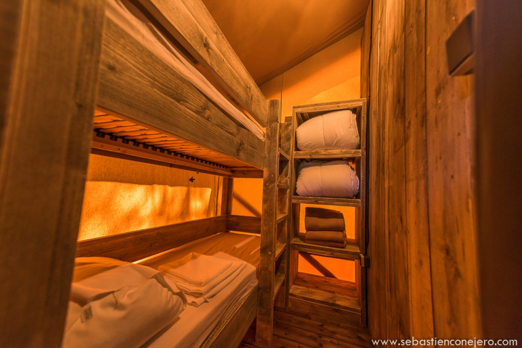 Glamping-Costaponente-Bed